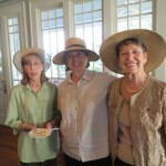 First Sunday ladies wearing their hats for cancer victims