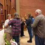 Communion at St. Teresa